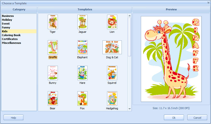 Poster Designer ScreenShots, software to make posters and ...