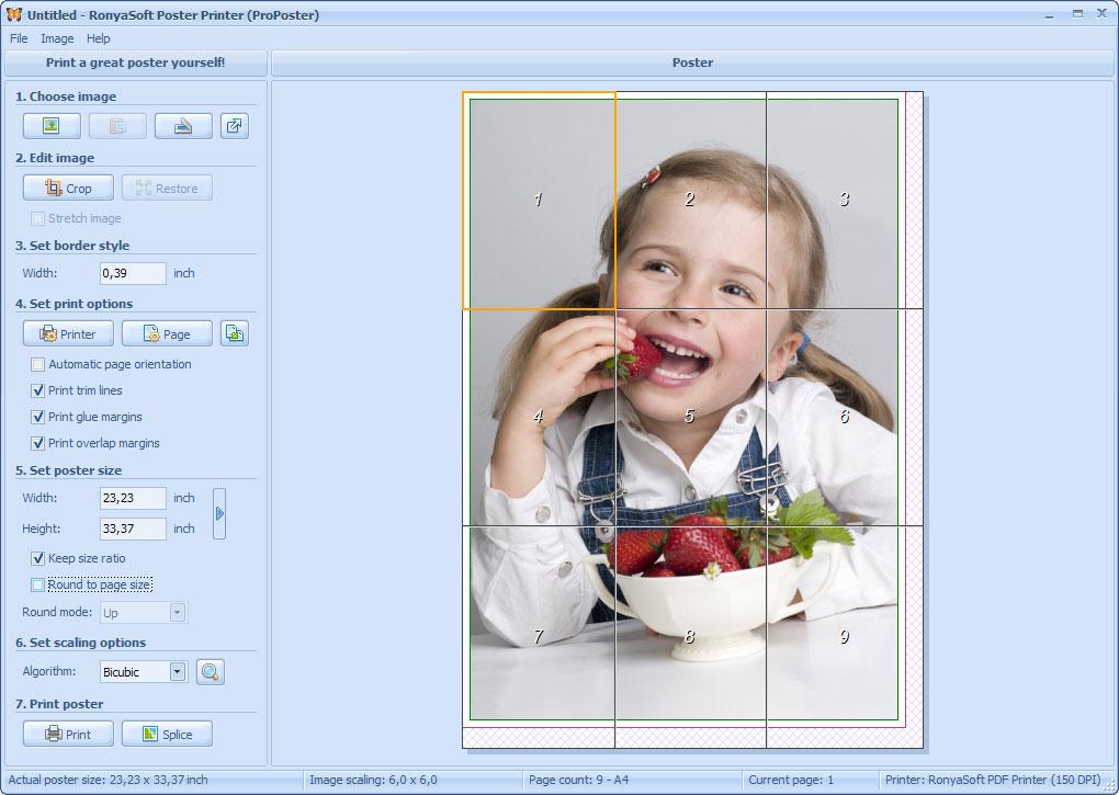 Smartprintlab poster printer stampe a grande formato su for Programmi per design gratis